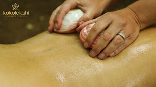 Lava Shell Massage in Lancaster, Lancashire