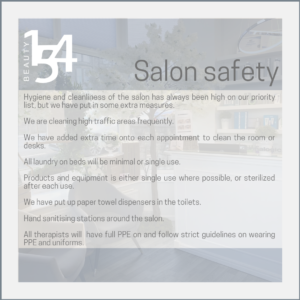 Salon Safety at Beauty 154