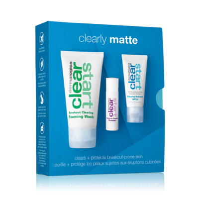 Clear Start Clearly Matte Skin Kit
